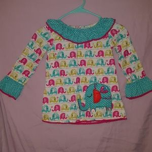 Rare Editions Size 5 Tunic Top